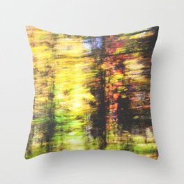 speed of fall Throw Pillow
