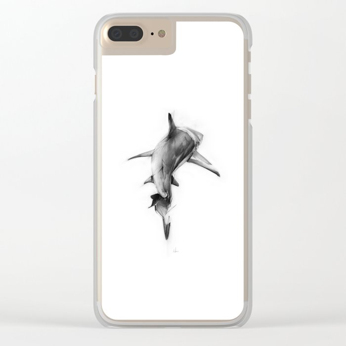 Shark II Clear iPhone Case