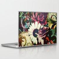 karu kara Laptop & iPad Skins featuring Daisy among Roses by Klara Acel