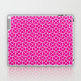 Pink Trefoil Laptop & iPad Skin