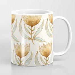 Bohemian Sunflower Pattern Coffee Mug