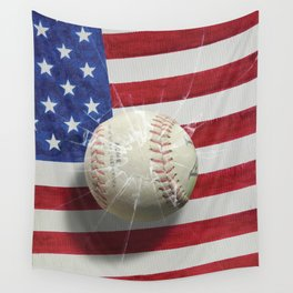 Baseball - New York, New York Wall Tapestry