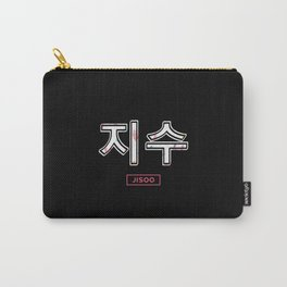 Jisoo Blackpink Hangul Carry-All Pouch