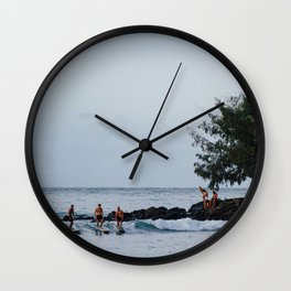 Friends that Surf are better Wall Clock