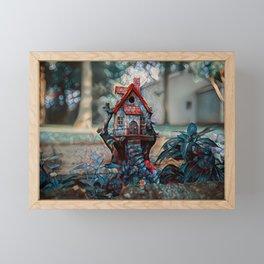 The Fae House Framed Mini Art Print