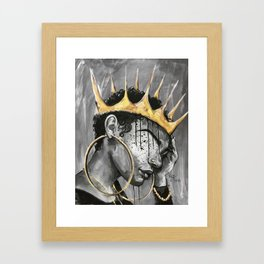 Naturally Queen X Framed Art Print