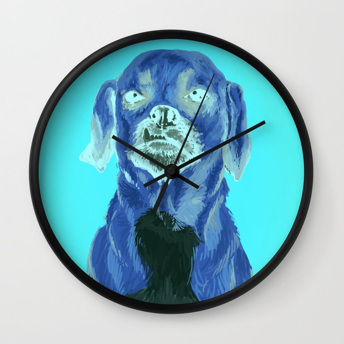 snaggle tooth Wall Clock