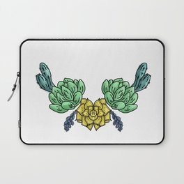 cacti and flowers ( https://society6.com/totalflora/collection ) Laptop Sleeve