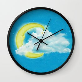 Moonman Wall Clock