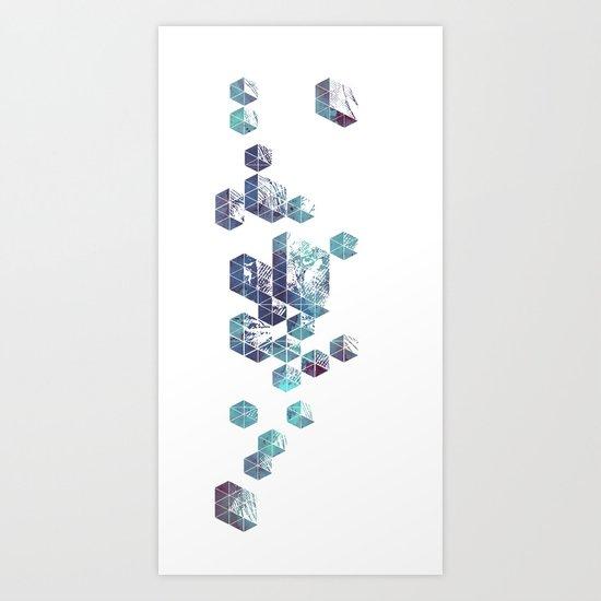 Majestic Collision Art Print