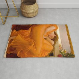 Flaming June, ‎Frederic Leighton Rug
