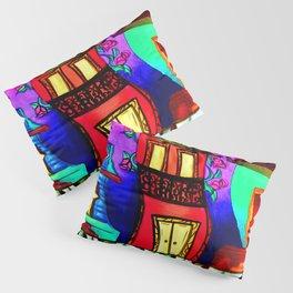 Royal Street Houses Pillow Sham