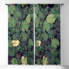 Lily Pads Blackout Curtain