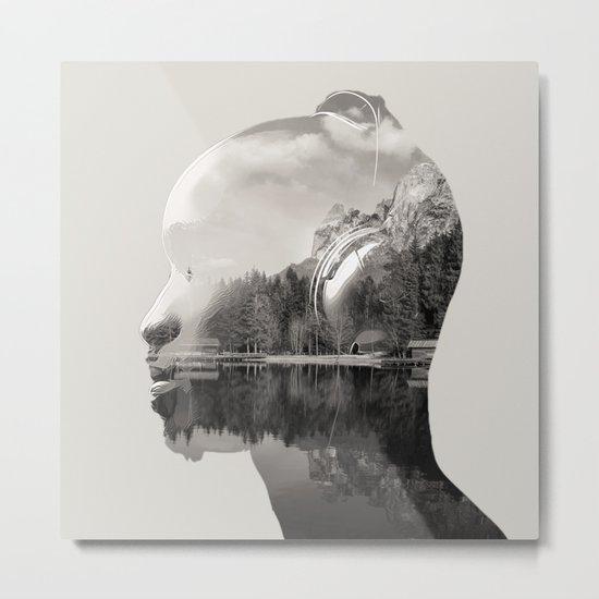 Feel The Sound Metal Print