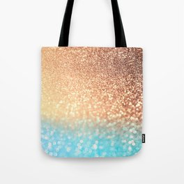 Sundown Over the Ocean Tote Bag