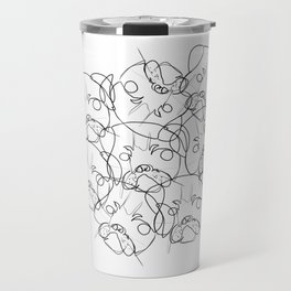 pug lump Travel Mug