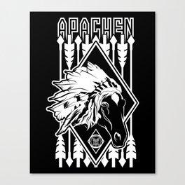 Horse Apache Canvas Print