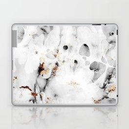 leaf marble Laptop & iPad Skin