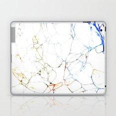 Marbled Blue Veins Laptop & iPad Skin