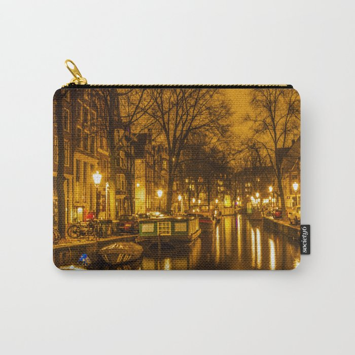 Amsterdam canals Carry-All Pouch