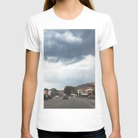 greece T-shirts featuring Greece by Pauline Gauer