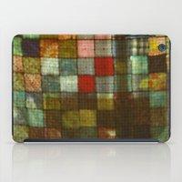 blanket iPad Cases featuring Blanket by Lyssia Merrifield