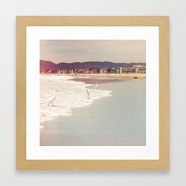 Venice Beach II Framed Art Print
