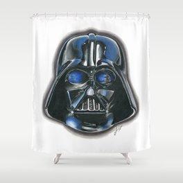 A Darth Vader Christmas Shower Curtain
