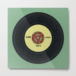 45 record Metal Print