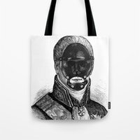 bdsm Tote Bags featuring BDSM XXI by DIVIDUS