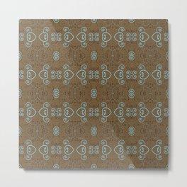Tile Love Metal Print