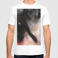 Figure Ice White MEDIUM Mens Fitted Tee