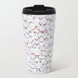 FIND THE PANDA - LUCKY CAT Travel Mug