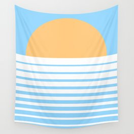 Tropical Sun Wall Tapestry