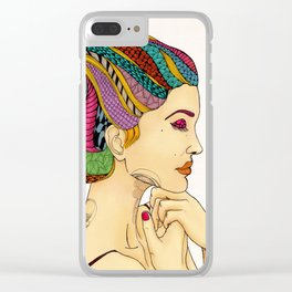 Take a deep breath then move on Clear iPhone Case