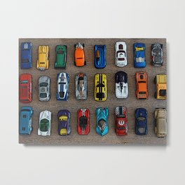 1980's Toy Cars Metal Print