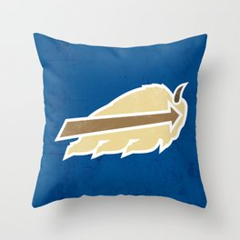 Buffalo Sky Bisons Throw Pillow