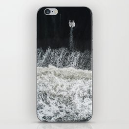Mother Earth and her Child iPhone Skin
