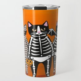 Halloween Trick or Treaters Travel Mug