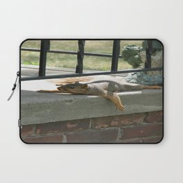 Someone there Laptop Sleeve