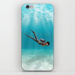 S.C.U.B.A. Diver iPhone Skin
