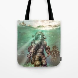 Aquanauts - Tales from under the sea Tote Bag