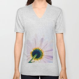 Blooming Daisy Unisex V-Neck