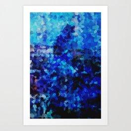 Colour Study: Blue Art Print