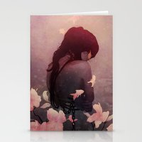 ghost Stationery Cards featuring Ghost Exposure by Alex Craig