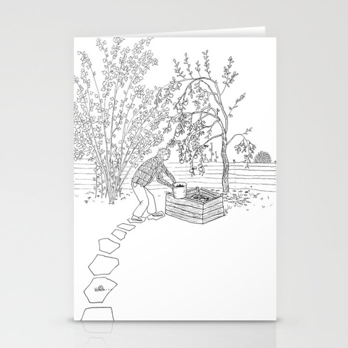 beegarden.works 001 Stationery Cards