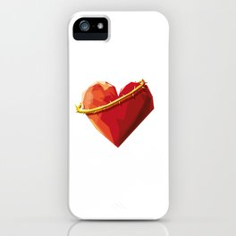 Thorny Heart iPhone Case