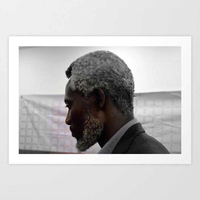 Chuma Nwokolo by David Emeka Kalu ® Art Print