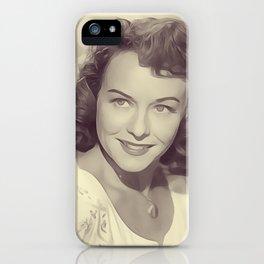 Paulette Goddard iPhone Case