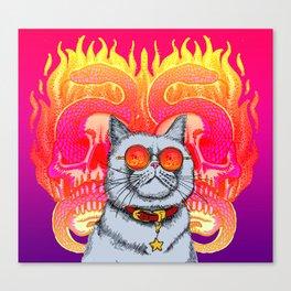 Natural Born Kittens Canvas Print